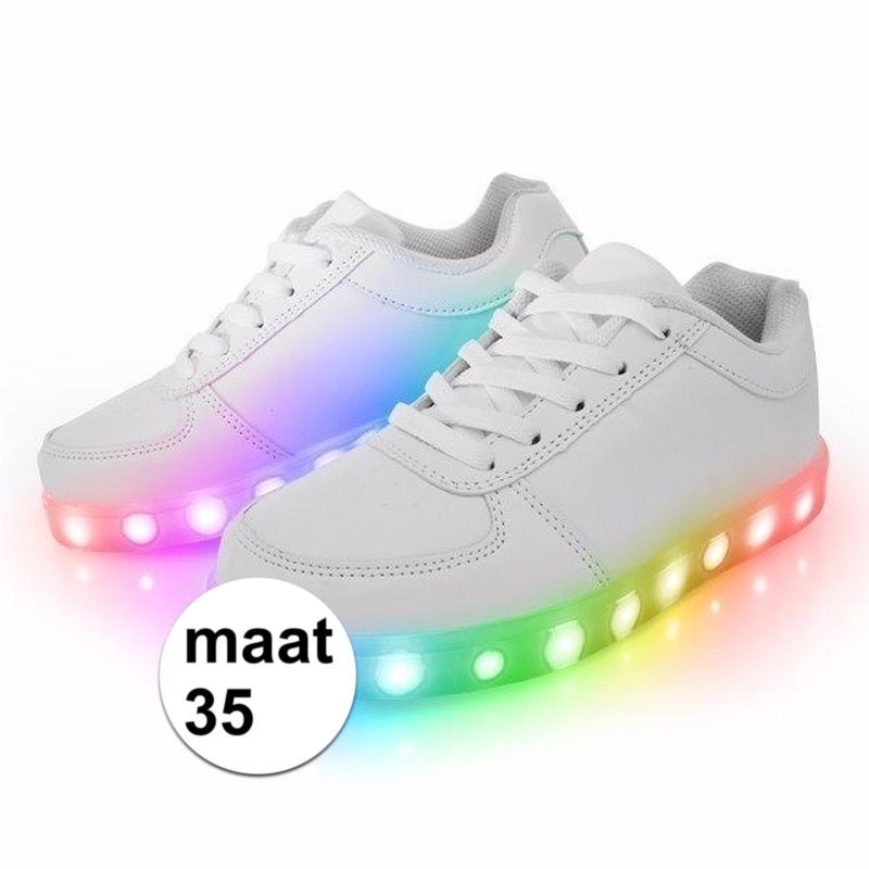 e25c8403a86 Schoenen met lichtgevende zool maat 35 32.95! Ik kies hawaii ...
